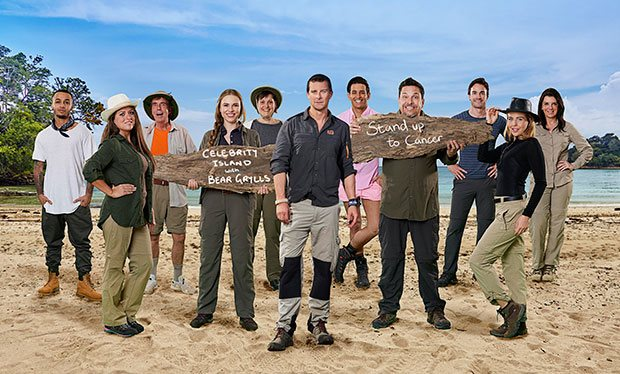 Celebrity Island with Bear Grylls has started